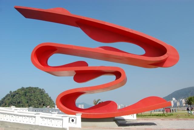 escultura da artista plástica tomie ohtake | imagem: arquivo pessoal