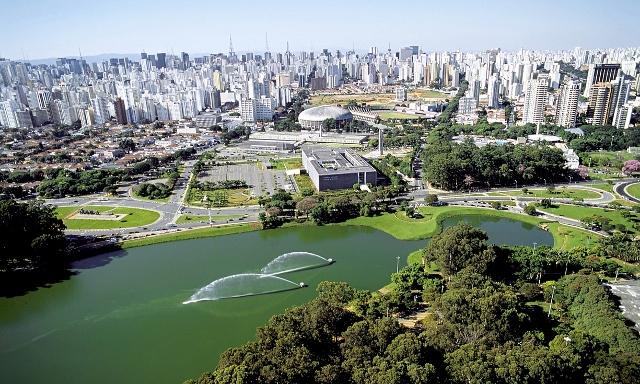 parque ibirapuera | imagem: são paulo city